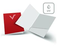 Mappen mit UV Lack