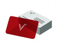 Mediacards PVC