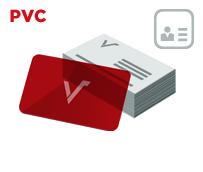 Mediacards PVC mit Personalisierungsdaten