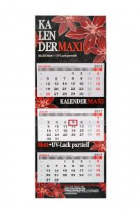Kalender MAXI mit partiellem UV Lack